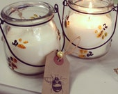 Orchard Fruit Candle in Retro Bumble Bee Jar