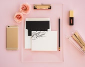 Classic Ave Personalized Stationery Set