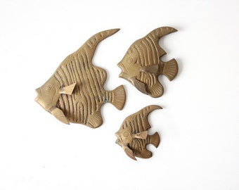 Brass Fish Wall Hanging