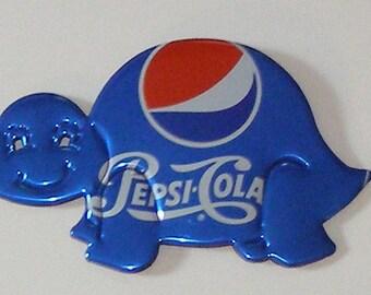 TURTLE Magnet - Regular Blue Pepsi Can (Replica)