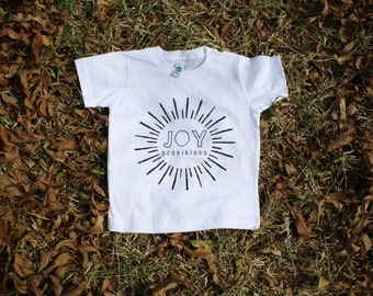 Joy Provisions organic kids t-shirt made in the USA