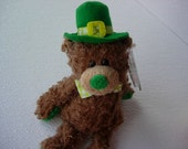 Ty Beanie Baby Bear ,  Ty Collectible  Bear  ,   ST. Patricks Day