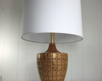 Vintage Lamp - Honeycomb