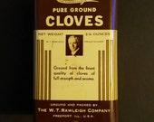 Rawleigh's Clove spice tin beautiful vintage  condition  1940s