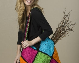 Fair-and-Square Tote Crochet Pattern