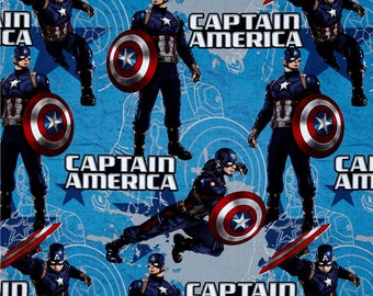 Captain America Fabric From Springs Creative