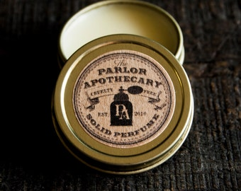 Solid Perfume Oil Tin- Choose your Scent- 7g (.25 oz)