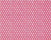 Fat Quarter fabric for quilt or craft Michael Miller Sun Tiles in Lipstick Fat Quarter