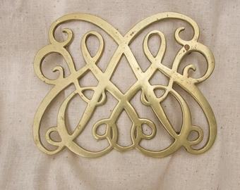 brass trivet Colonial Williamsburg