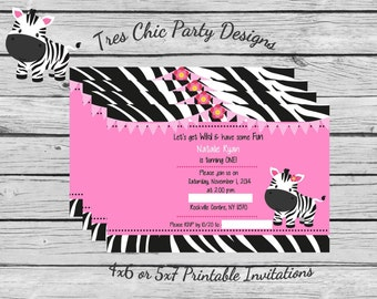 Zebra Invitations pink zebra birthday invitations birthday invitations zebra birthday invitation zebra birthday baby zebra invite pink zebra