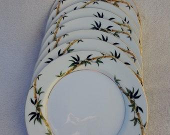 Vintage Kent China Bali Hai China Plates