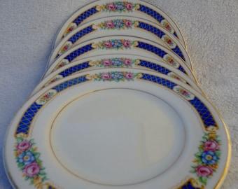Vintage Syracuse China Haddon China Plates