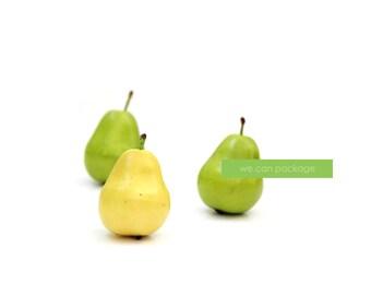 Artificial Mini Pears - 3 Pack