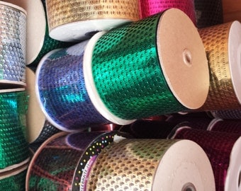 Punchinello Ribbon - Available in a variety of colors - SALE