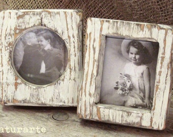 Shabby picture frames