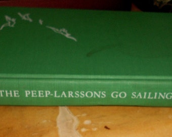Vintage Children's Master Library Book Peep-Larssons Story