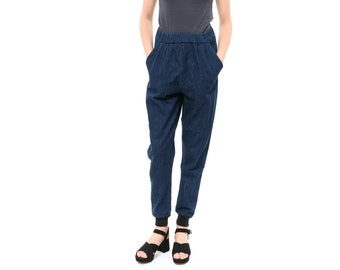 Denim pants, Blue jeans, Trousers, Loose Fitting Pants, New, High waisted jeans, Jogger Pants, harem pants