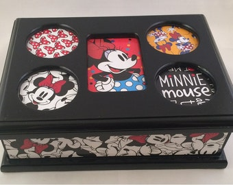 The magic of oz there 39 s no place like home by jewelryboxesetc for Minnie mouse jewelry box