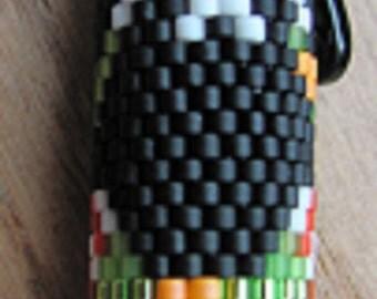 Hand Beaded Witch Splatt G2 Pen Cover with Pen