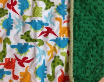 Dinosaur Blanket Set