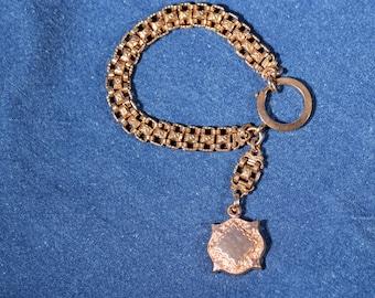 Antique Bracelet Gold Tone Bracelet Drop Bracelet Dangle Bracelet Victorian French Jewelry