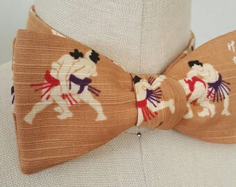 SALE!!! Self-tie bow tie | Sumo wrestlers