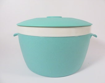 Vintage Turquoise Melmac Melamine Ice Bucket - Bolero for Therm-O-Ware Ice Bucket