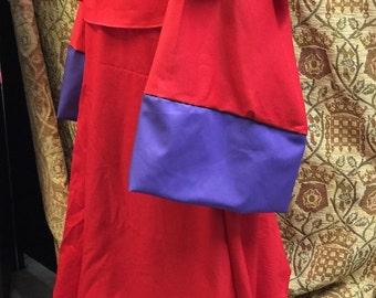 Red robe for cosplay Raistlin Majere