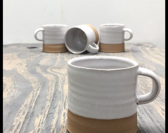 Set of four Espresso mugs