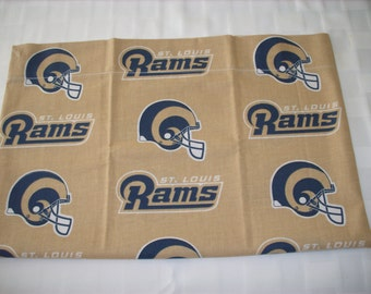 NFL Rams travel pillowcase