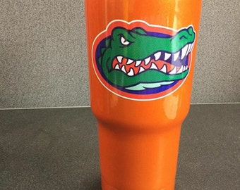 Full Color Florida Gators Decal/RTIC YETI  Car Decal, Computer Decal, Window Decal, Cell Phone Decal