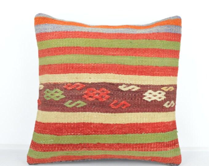 Kilim pillow, Kilim Pillow Cover k505, Turkish Pillow, Kilim Cushions, Bohemian Decor, Moroccan Pillow,  Bohemian Pillow, Turkish Kilim