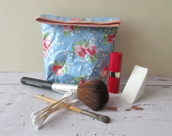 Cosmetic case, Paper bags, Paper crafts bag, make up pouch, Cellphone case