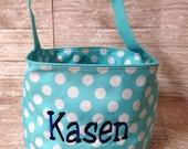Easter Basket Monogrammed Personalized Easter Basket Boys Girls Toddlers Easter Bucket