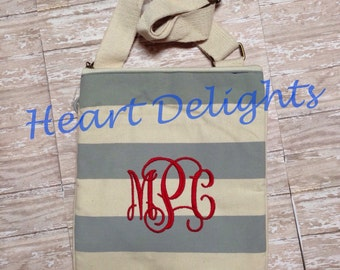 Personalized Crossbody Bag Purse  Ladies Teen Girls Monogrammed Gift Bridesmaids Graduation