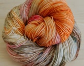 Morningside Sock Yarn - AS REAL AS - (100% Superwash Merino Yarn) - Fingering/Sock Weight - Hand Dyed, One of a Kind - 400yds/100g