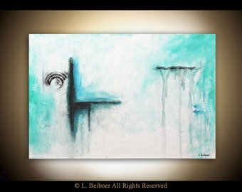 Abstract painting original modern art oil painting large wall art contemporary abstract handmade fine art 24 x 36