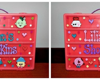 Shopkins Pink Organizer Box