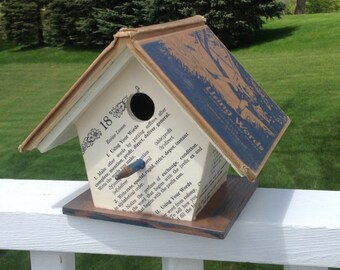 """The """"Using Words"""" Spelling Book Birdhouse"""