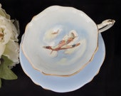 Paragon Tea Cup -- Patriotic Series -- English Teacup -- WWII Collectible -- Aviation Collectible -- Cup and Saucer