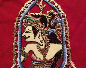 Princess - Gorgeous Authentic Shadow Ornaments - Wayang Kulit Gantungan