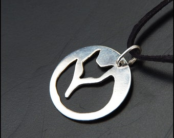 Fox - Sterling silver pendant