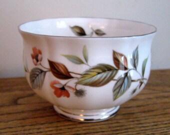 "Vintage Royal Adderley  ""Beechwood"" Bone China Small Bowl Sugar Bowl Made in England VintageShabbyToChic"