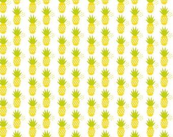 Riley Blake - Fresh Market by Bella BLVD - Pineapple White
