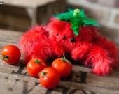 Spidato - Handcrafted Limited Edition Tomato Spider Plush