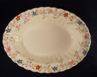 Copeland Spode Wicker Dale Vegetable Bowl 10 1/8""