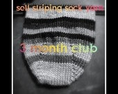 Self Striping Sock Yarn Club, 3 Months, April - June 2017