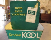 Vintage KOOL Hanging Advertising Tin