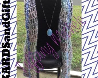 Women's Fashions Chunky Wrap Shawl Crochet