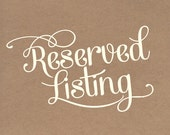 Reserved Listing For cocotel